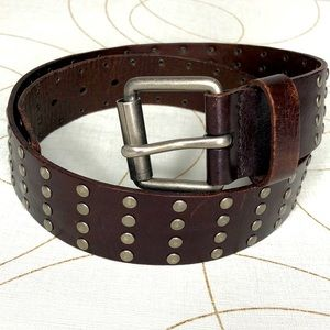 American Eagle Outfitters brown studied belt Small